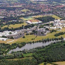 UEA Aerial Campus View_UEA AERIAL_INTO University of East Anglia