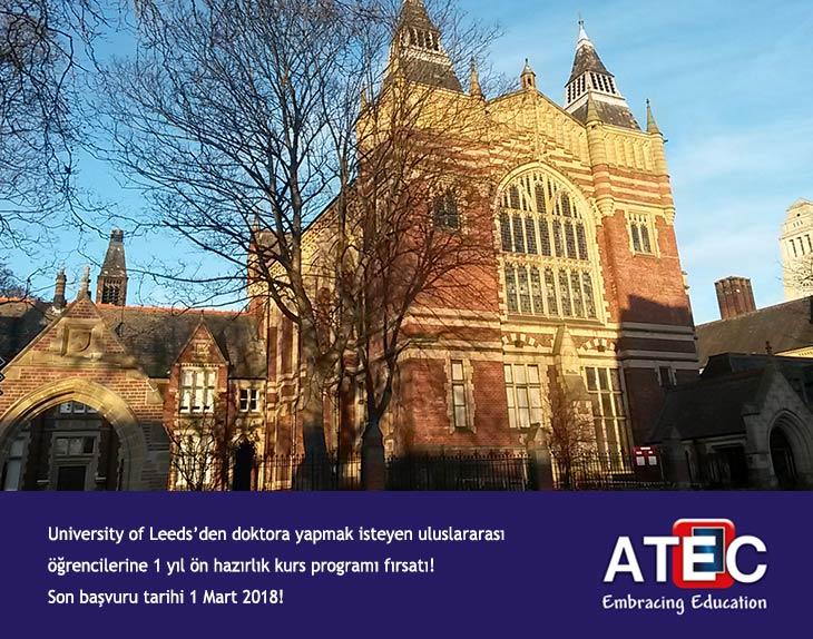 University Of Leeds'den Ön Hazırlık Kursu